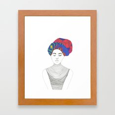 Fashion Illustration 1  Framed Art Print
