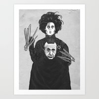 Bored With My Old Hairst… Art Print