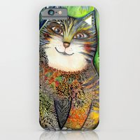 Sunny cat iPhone 6 Slim Case