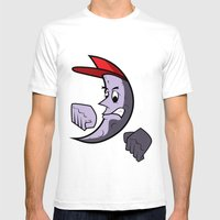 Moon Goon Mens Fitted Tee White SMALL