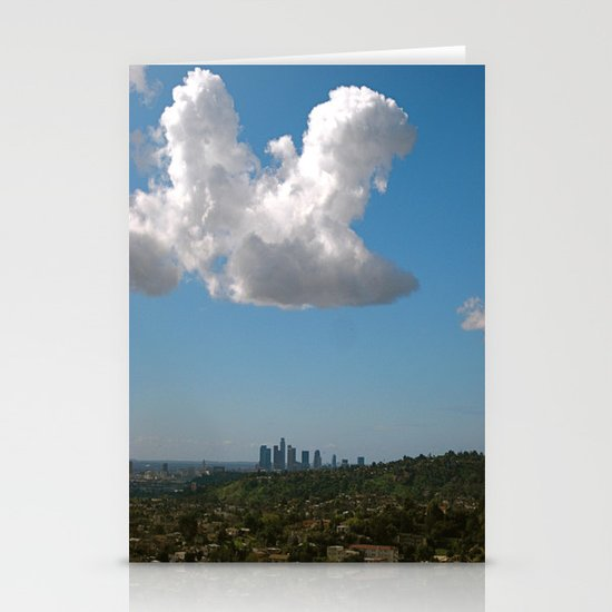 Los Angeles Skies Stationery Card