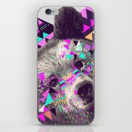 iPhone & iPod Skin featuring Piñata BEAR  by Kris Tate