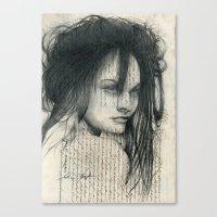 Mane Canvas Print