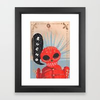 Don't You Miss Mexico? Framed Art Print
