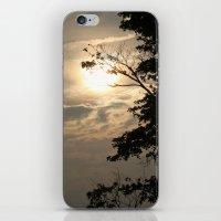 Setting Sun iPhone & iPod Skin