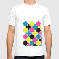 CMYK IV Mens Fitted Tee White SMALL