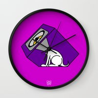 Wireless Woofer Wall Clock