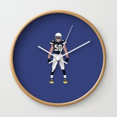Bolt Up - Manti Te'o Wall Clock