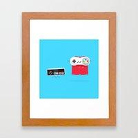 Let's Be Super Together Framed Art Print