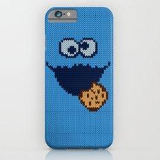 monster 'nom nom' knit iPhone 6 Slim Case