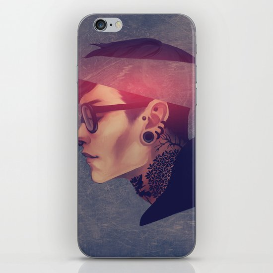 namemarcus iPhone & iPod Skin