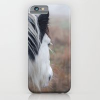 Profile Of A Black And W… iPhone 6 Slim Case