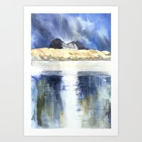 REFLECTION SUILVEN Art Print