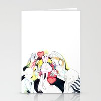 Whe love Fashion 2 Stationery Cards