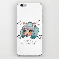 PU$$Y iPhone & iPod Skin