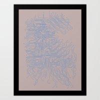 Let's Make Things More C… Art Print