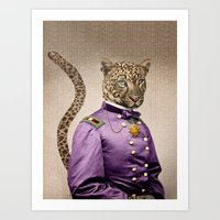 Grand Viceroy Leopold Le… Art Print
