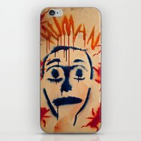 Humans and nature  iPhone & iPod Skin