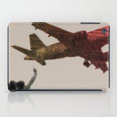 Dad's on that paper flight again iPad Case