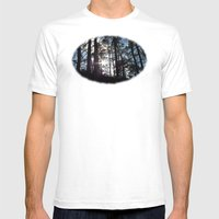 Sunlight In The Dark For… Mens Fitted Tee White SMALL