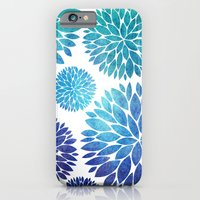 Ocean Flowers Watercolor iPhone 6 Slim Case