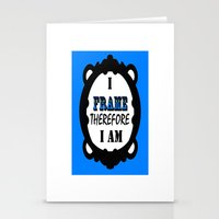 I Frame.... Stationery Cards