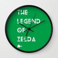 The Legend Of Zelda Wall Clock