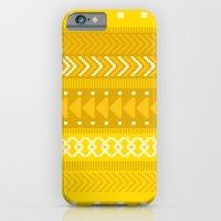 iPhone & iPod Case featuring Indomitable - tribal geometrics by penina
