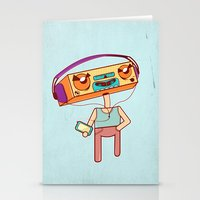 I remember that tune Stationery Cards