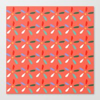 Flashy summer Canvas Print