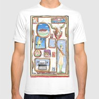 Pictures Mens Fitted Tee White SMALL