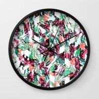 Rocky Diamonds Wall Clock