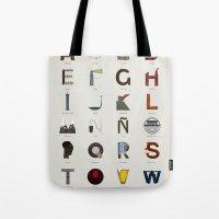 Alfabeto malagueño © Tote Bag