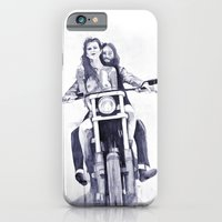 Biker Babes iPhone 6 Slim Case