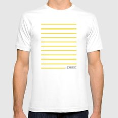 0:59 Mens Fitted Tee SMALL White