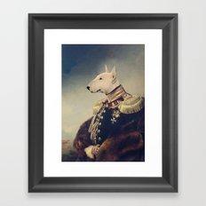 King Bully Framed Art Print