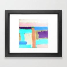 Rest (inverted) Framed Art Print
