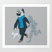 The Literal Adventures O… Art Print