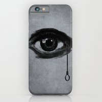iPhone & iPod Case featuring eye by gazonula