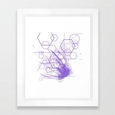Tech Nerd Framed Art Print