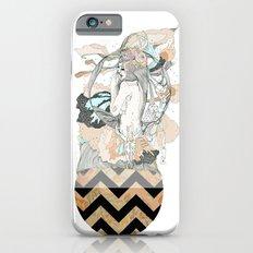 floral ego iPhone 6 Slim Case