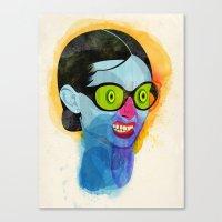 Fussy Canvas Print