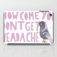 Headache! iPad Case
