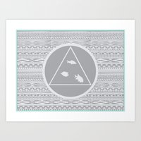 Patterns of Thought Art Print