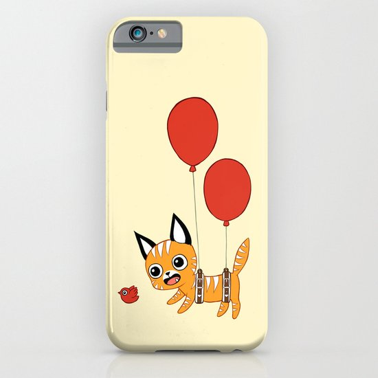 Balloon Cat iPhone & iPod Case