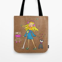 Dogs Are Joy ❤️ Tote Bag