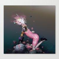 Pink Rubbergum Canvas Print