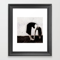 Modern Girl Framed Art Print