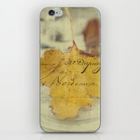 November days iPhone & iPod Skin