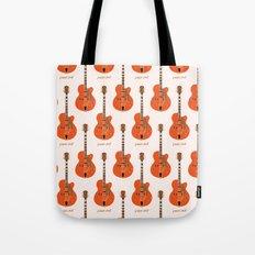 Chet's Guitar Tote Bag